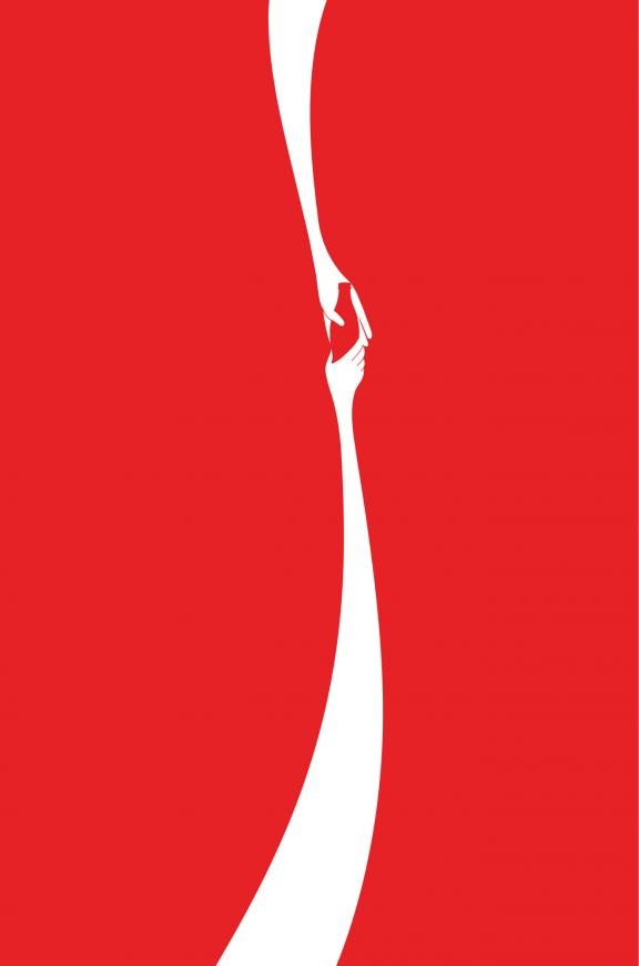 Jonathan Mak Long's CokeHands non-copy ad won the 2012 Cannes Lions Grand Prix in the outdoor category.